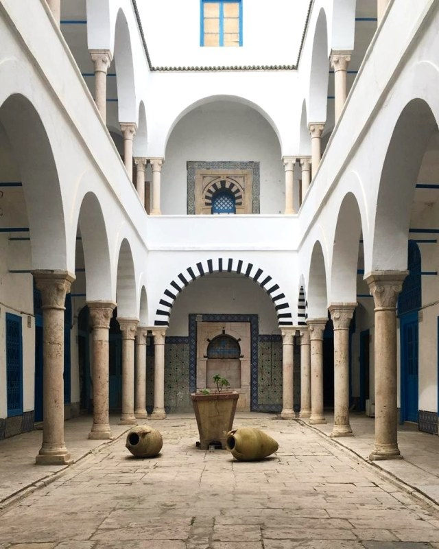 A building inside the Medina.