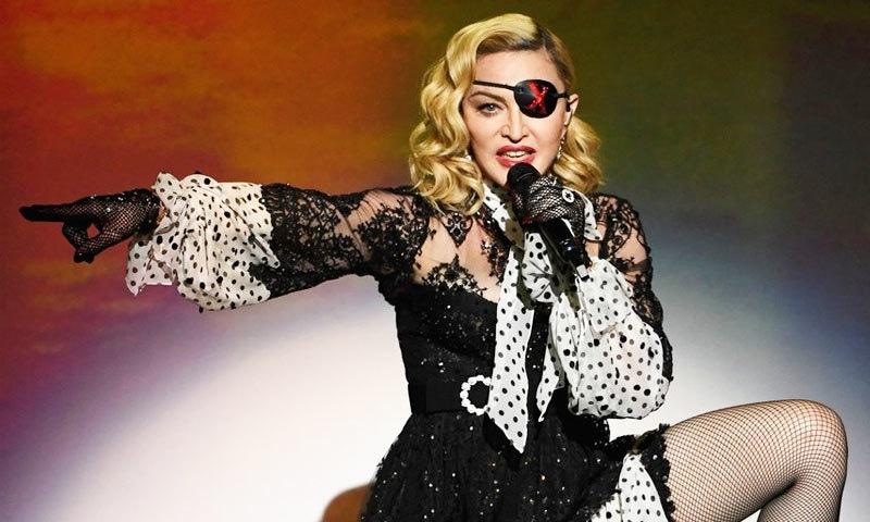 فلم میں میڈونا کی گلوکاری کی زندگی کو دکھایا جائے گا—فائل فوٹو: اے ایف پی