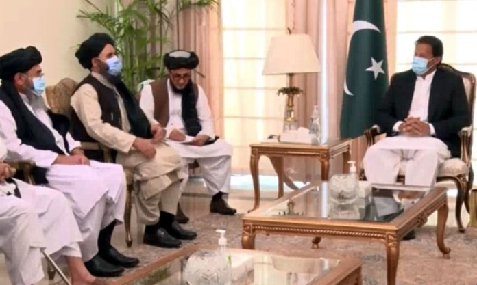In meeting with Taliban, PM Imran says intra-Afghan talks provide  'historic' opportunity for peace - World - DAWN.COM