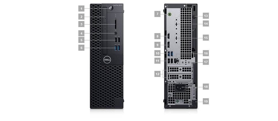 Ports & Slots – Small Form Factor