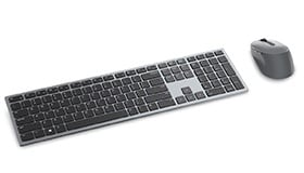Dell Premier Multi-device Wireless Keyboard and Mouse   KM7321W