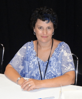 Amy Keating Rogers on BronyCon (courtesy Wikipedia)