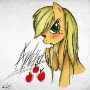 Applejack (Hair Down) by EP-777