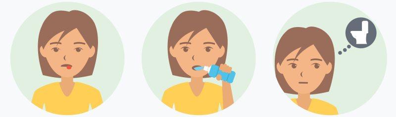 Les symptômes de la cétose: bouche sèche, soif, miction fréquente
