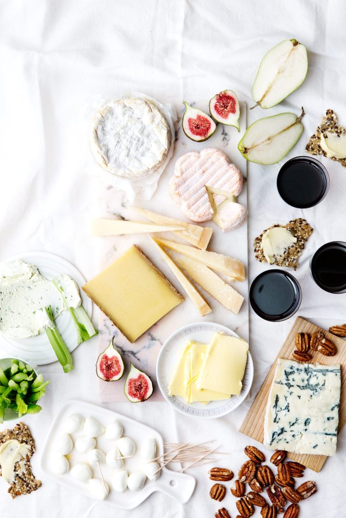Low-Carb Cheese Platter — Recipe — Diet Doctor