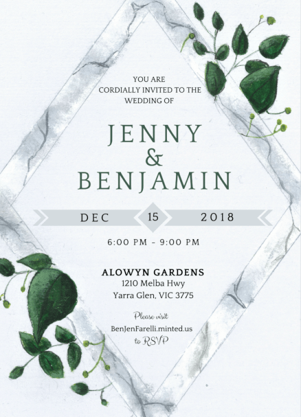 Download Free Png Free Wedding Invitation Template Modern