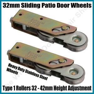Boral Dowell sliding aluminium patio door rollers MK 5C x pair