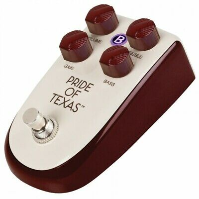 Danelectro Billionaire Pride of Texas Guitar Overdrive Effect Pedal BP1