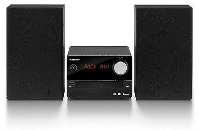 Karcher MC 6470D Kompaktanlage CD-Player - DAB+ Radio - Bluetooth - Wecker - USB