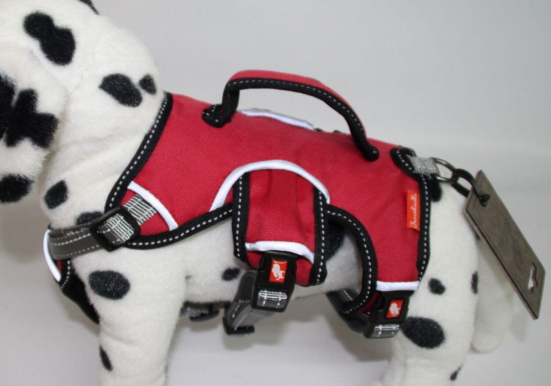 Ferribiella Hundegeschirr / Sicherheitsgeschirr Farbe rot Grösse S bis XL