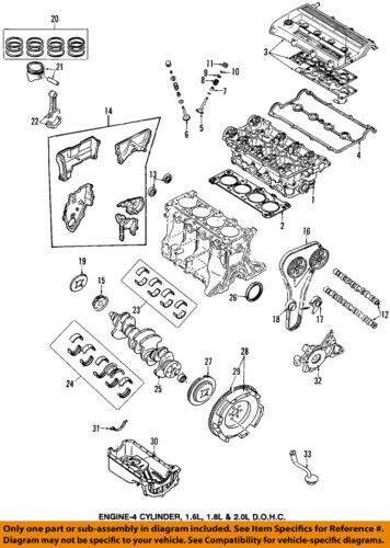 Brand NEW Rear Cover Crankshaft OIL Seal Mazda 2 323 MX5 Miata MX3 Protege   eBay