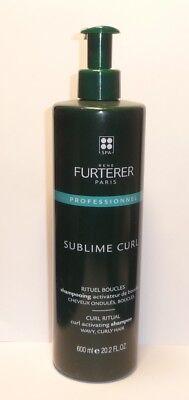 René Furterer Sublime Curl - Locken Shampoo Gelocktes, welliges Haar 600ml