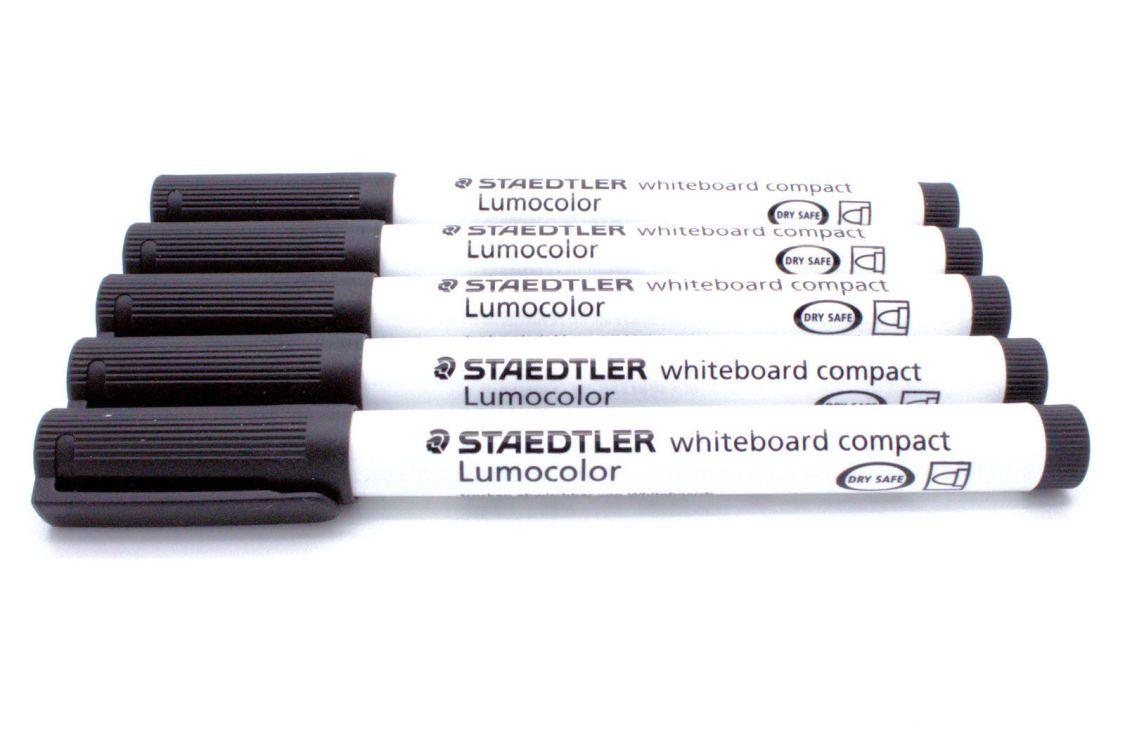STAEDTLER Lumocolor Whiteboard-Marker compact 341, schwarz, Sparpack wählbar
