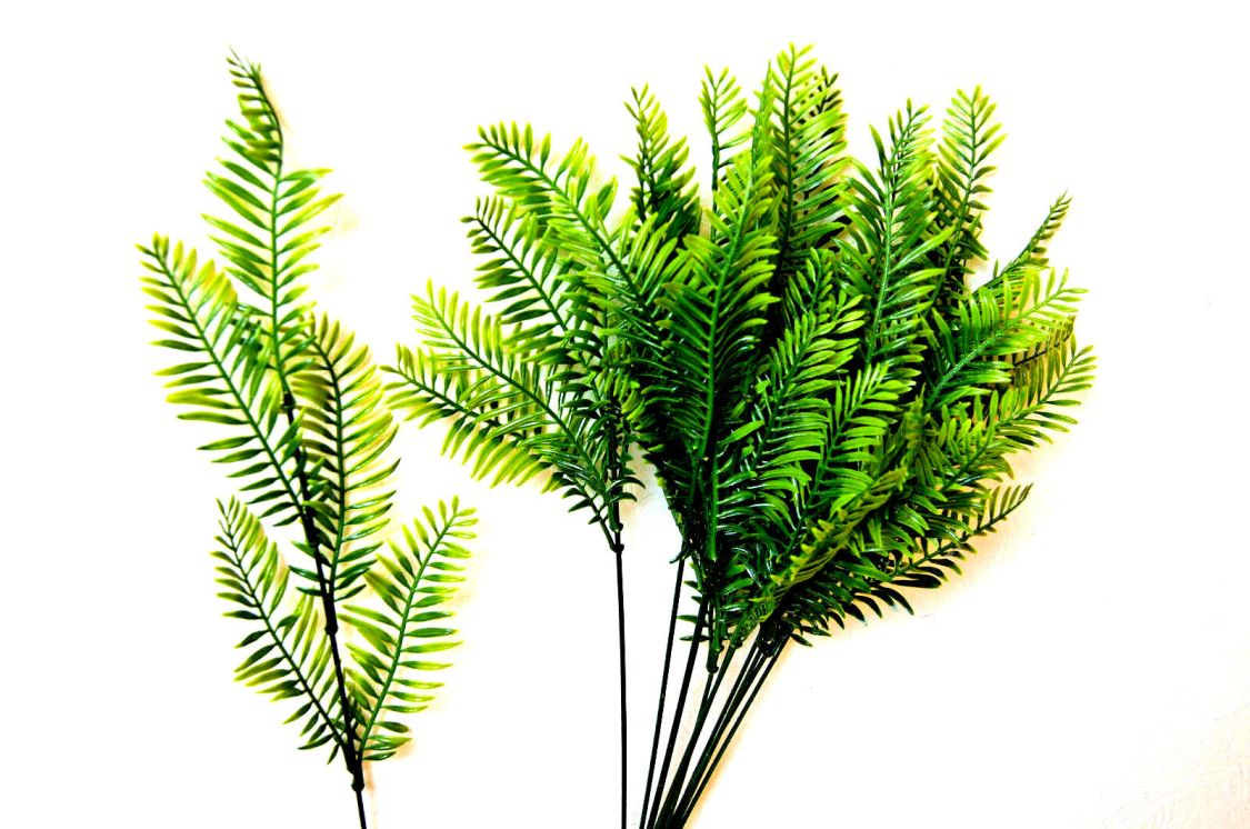 12 Palme Palmwedel Strauß Kunstpalmen Künstliche Blätter künstliche Floristik K3