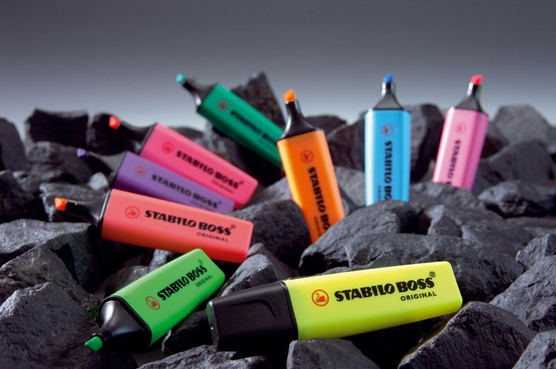 Stabilo Textmarker Boss Original verschiedene Farben zur Auswahl