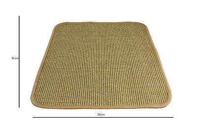 Sisal Teppich Katzen Kratzmatte Kratzteppich Katzenmatte Kratzwand Läufer Natur