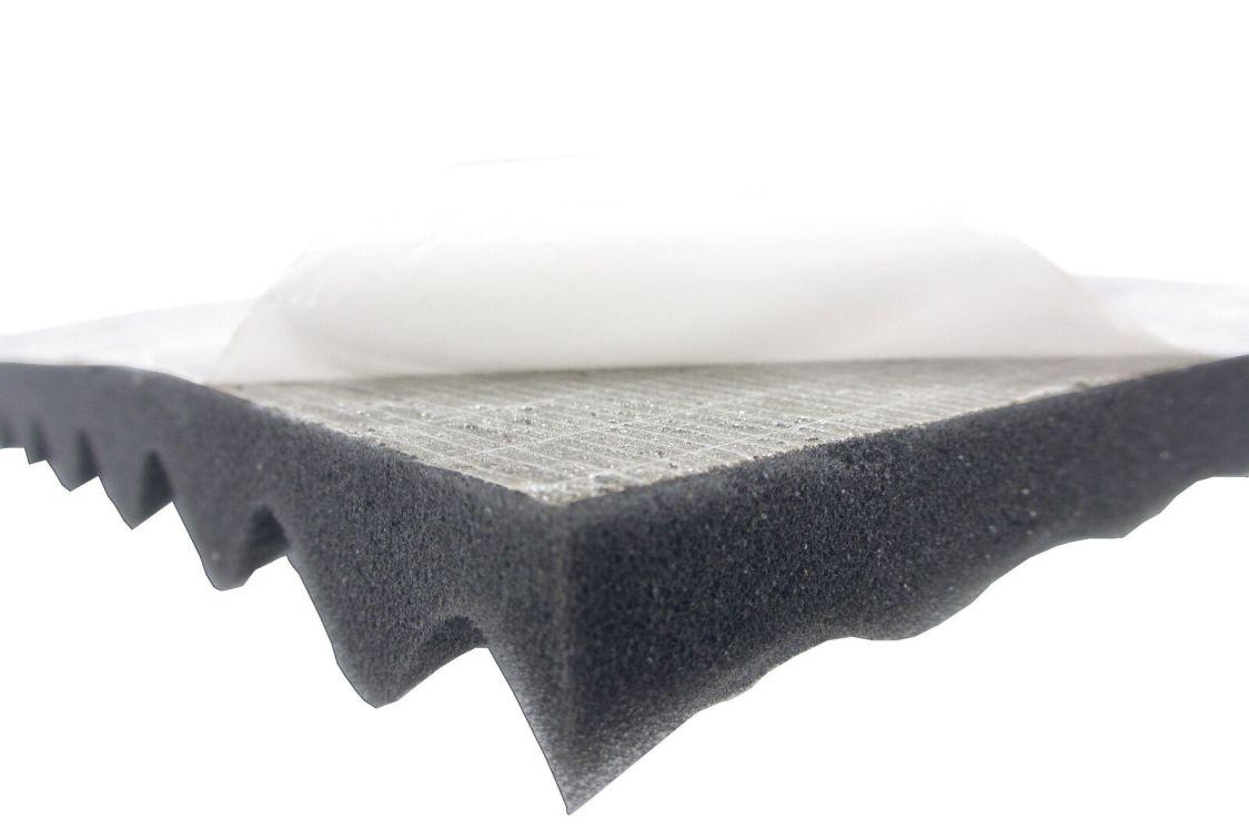 Akustikpur Noppenschaumstoff (2cm) SELBSTKLEBEND Akustik Schaumstoff Dämmung
