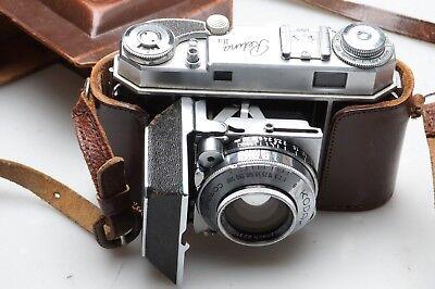 Kodak Retina IIa + Schneider Xenon 2 / 50