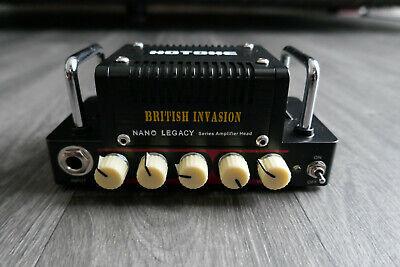 Hotone Nano Legacy British Invasion Mini Guitar Amplifier Head 5W (NLA-1) *New*