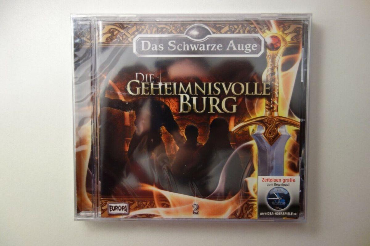 Das schwarze Auge 2 DIE GEHEIMNISVOLLE BURG Hörspiel CD Neu OVP Europa DSA2