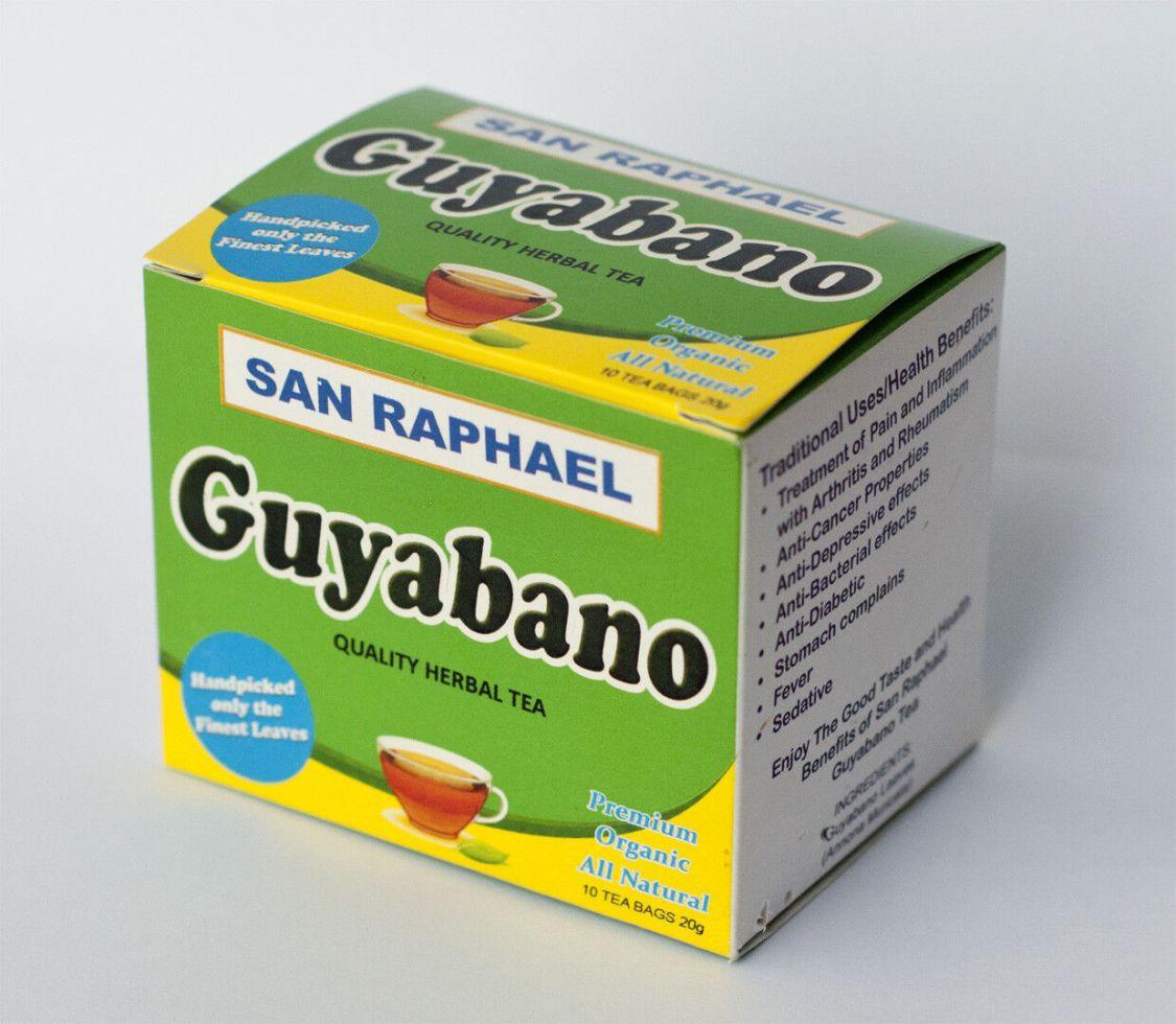 Guanabana Organisch Tee (Soursop Graviola Corossol) 2 Packung