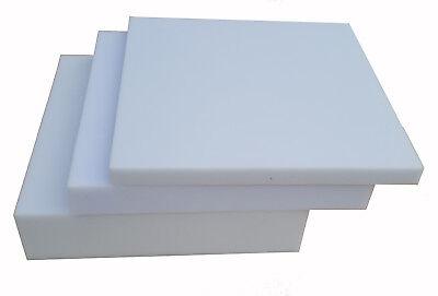 Schaumstoffplatte 60x200 Schaumstoff Polster Zuschnitt Matratze weiß-grau 25/44