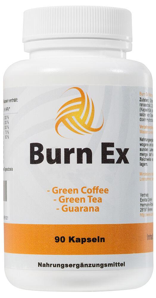 Burn Ex, Grüner Kaffee Extrakt, 90 Kapseln in Premiumqualität, 100% natürlich