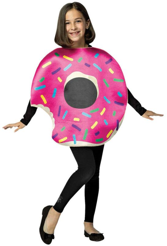 Rasta Imposta Strawberry Donut With Bite Childrens Halloween Costume GC6331710