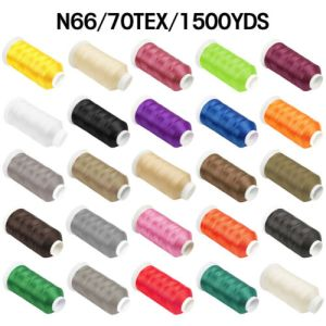 1500Yard #69 T70 Strong Bonded Nylon Sewing Thread Leather Canvas Hand Stitching