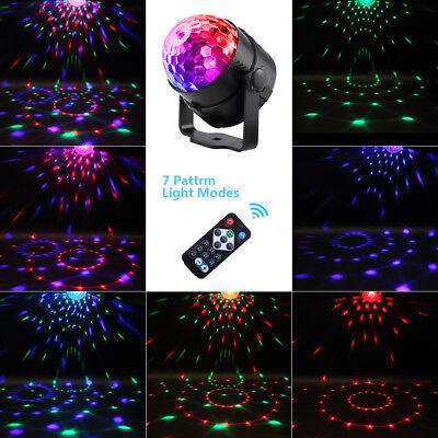 LED Discokugel Lichteffekt Magic RGB DJ Party Projektor Magic Bühnenbeleuchtung