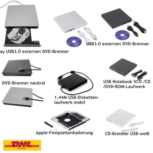 CD DVD RW Brenner Slim USB extern Laufwerk CD Brenner Notebook Laptop NetbookgVR