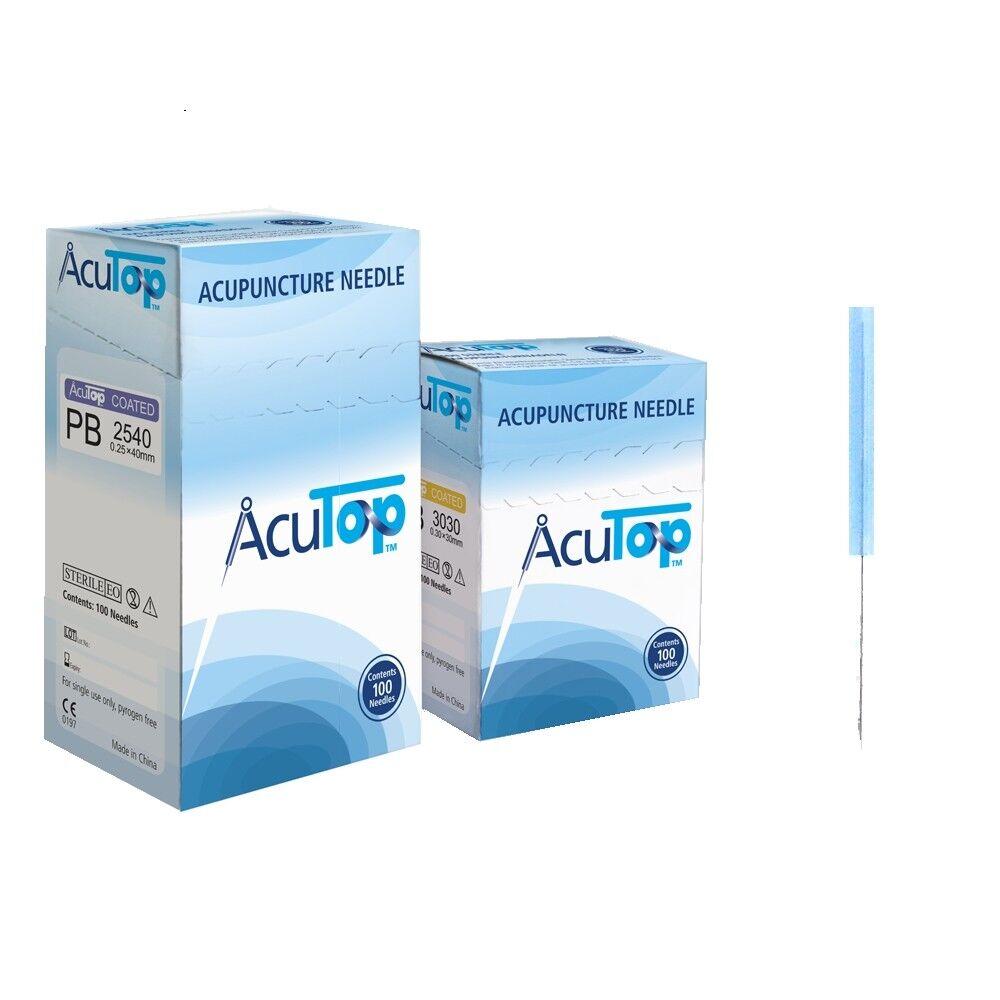 Akupunkturnadeln AcuTop™ Nadeln Typ PB Akupunktur ohne Führrohr 100 St./Packung