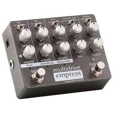 Empress Effects Multidrive Guitar Effect Pedal