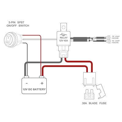 led light bar wiring diagram switch mercedes benz fuel