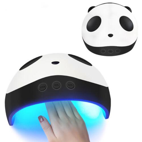24W/36W Panda Nageltrockner UV LED Lampe für Nägel Super Nette Maniküre USB