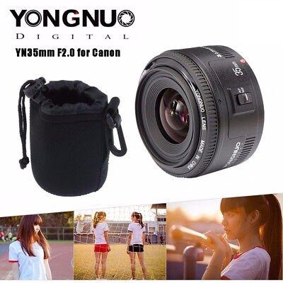 Yongnuo YN35mm F/2.0 AF/MF Weitwinkel Festbrennweite Objektiv für Canon DSLR