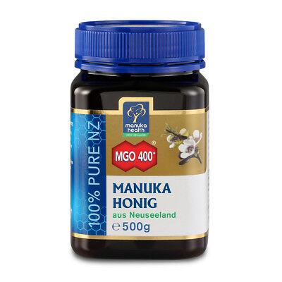 (133,42€/1kg) Manuka Health Manuka Honig MGO 400+ (500g)  - gesunder Honig
