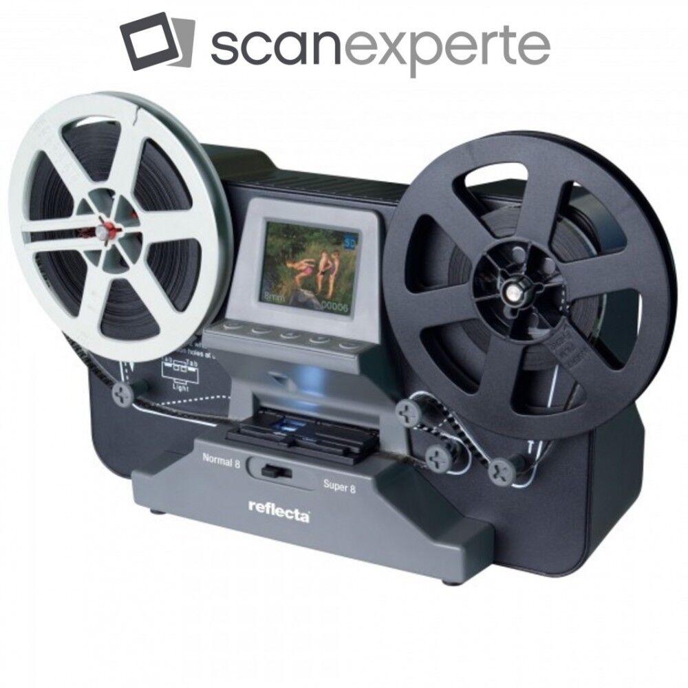 SUPER 8 SCANNER MIETEN 1 WOCHE Reflecta Super 8 - Normal 8 Scanner, inkl SD-Card