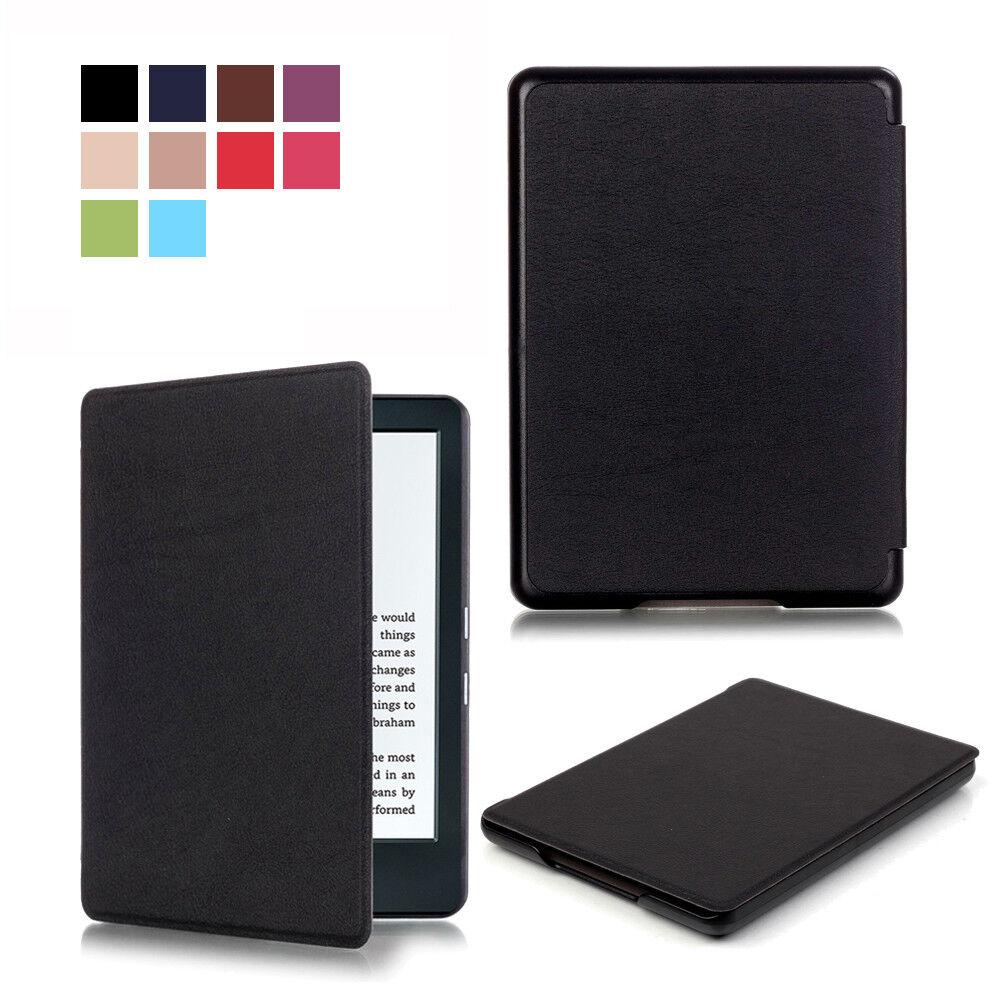 ★ Schutz Hülle Amazon neue Kindle Paperwhite 2018 Smart Tasche Etui Cover Case