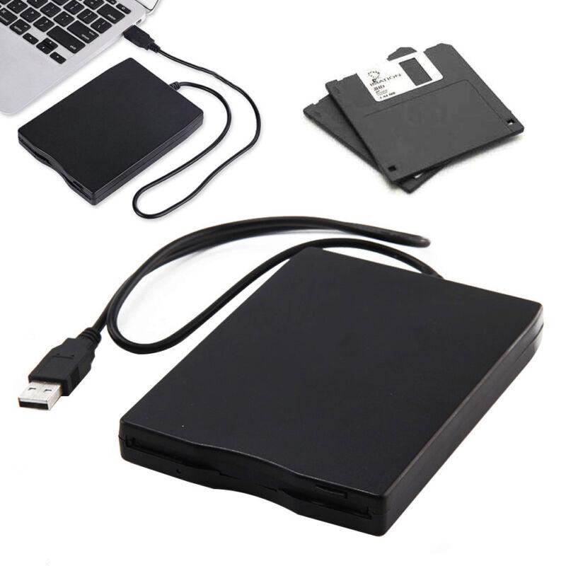 "3.5"" FDD USB Floppy Extern Laptop Disk Drive Diskette Diskettenlaufwerk 1.44Mb"