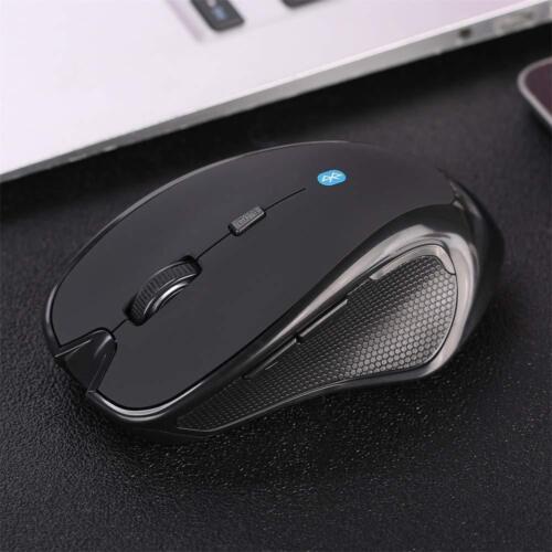 Wireless Bluetooth Maus 6D 1600DPI Optisch Gaming Mouse Non-slip für Laptop PC