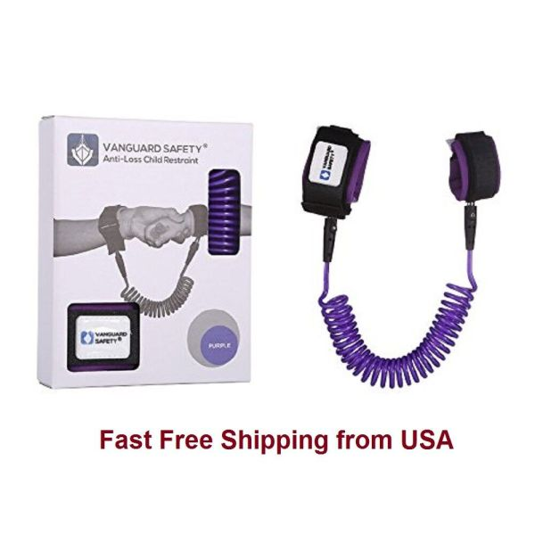 Anti-Loss Strap Wrist Link Hand Harness Leash band Safety for Toddlers Child Kid 1