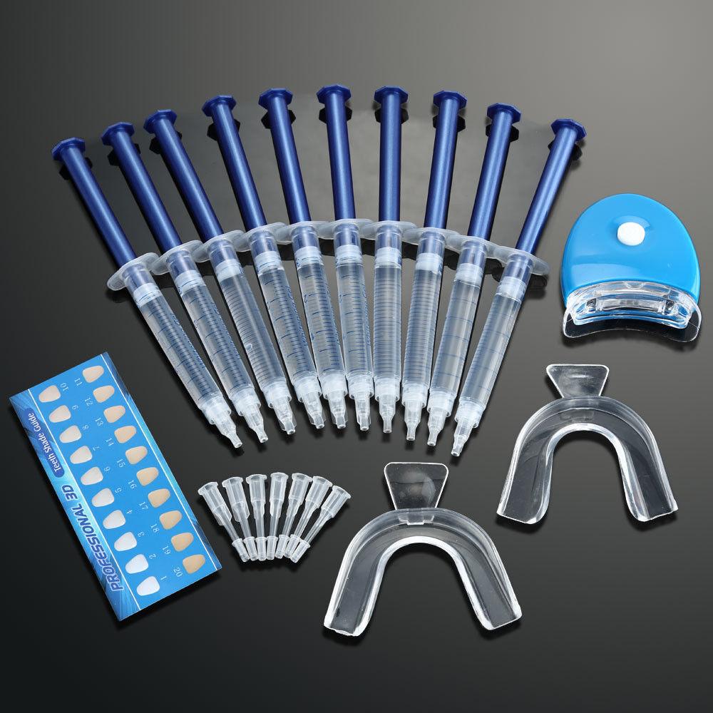 XXL Zahnbleaching Paket Bleaching Gel Set, Zahnweiß Zahnaufhellung Weiße Zähne