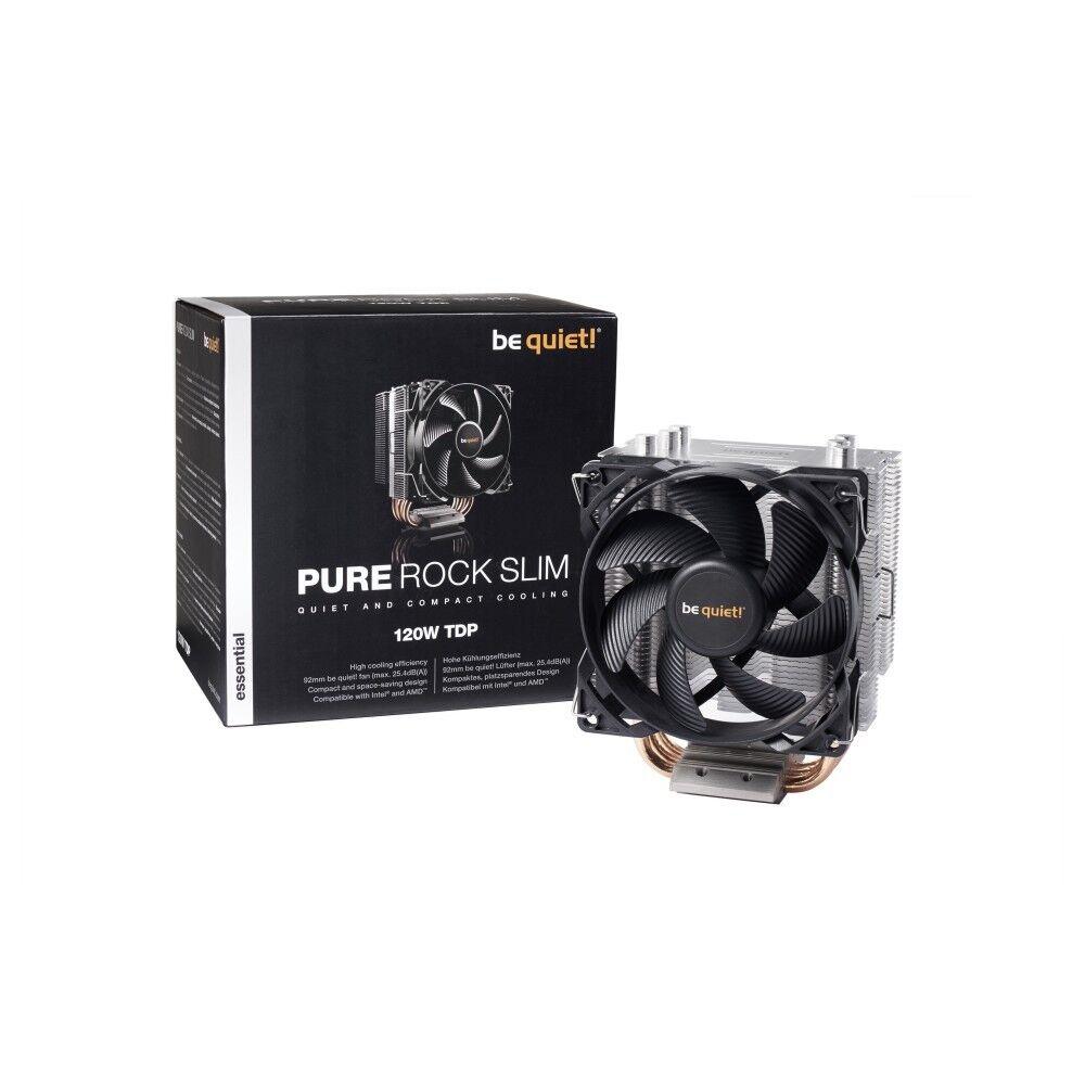 CPU-Kühler be quiet! Pure Rock Slim,Intel 1150,1151,1155,1156,AM2,AM3,AM4 120 W