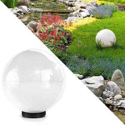 Kugelleuchte 40cm Kugellampe Leuchtkugel Außenlampe Gartenlampe Außenleuchte