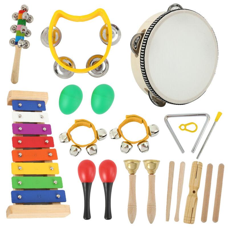 20x Baby Musikinstrumente Set Percussion Spielzeug Spaß Kinder Spielzeug