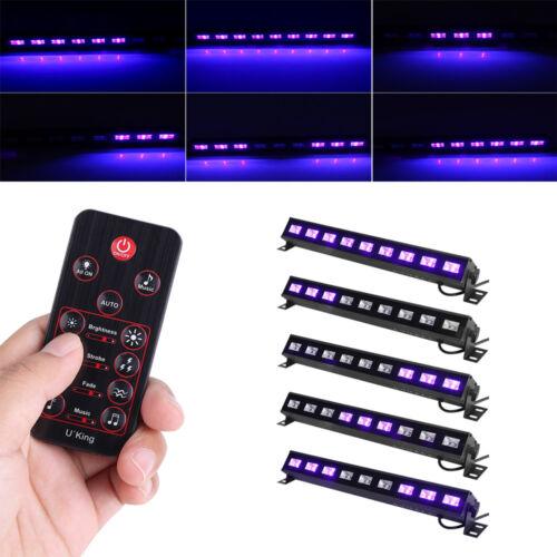 9LED UV-BAR UV Bühnenbeleuchtung Schwarzlicht Bühnenlichtleiste Lichteffekt ST-1
