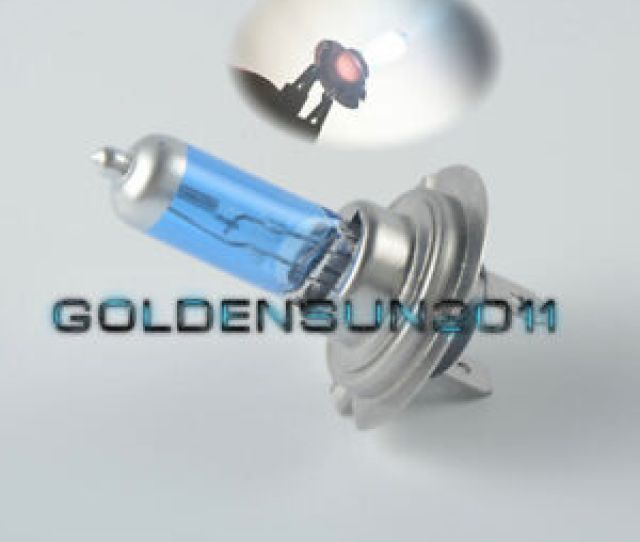 For 2003 2016 Honda Cbr1000rr Cbr600rr H7 Xenon Hid Hyper Headlight Bulbs Lights
