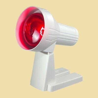 Efbe Schott Infrarot-Lampe IR 808 - 100 Watt - Rotlichtlampe - Wärmelampe