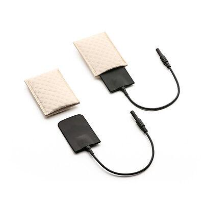Saalio® Set Iontophorese Silikon-Achselelektroden mit Schwammtaschen 1 Paar NEU